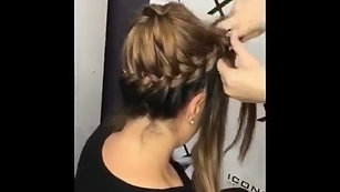 Braid Bun by Kayla