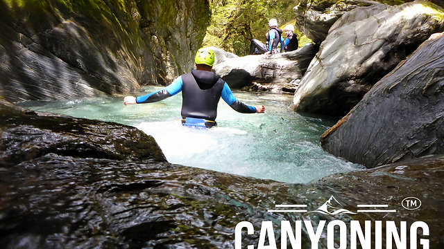 Canyoning NZ Videos
