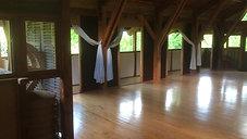 Stage de Yoga la salle de pratique