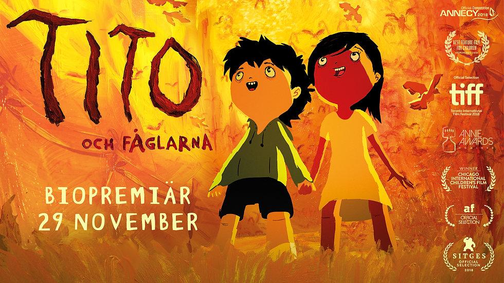 Svensk trailer TITO OCH FÅGLARNA