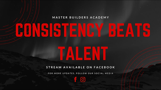 Consistency Beats Talent