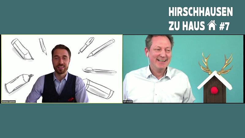 Andreas Gaertner Interview mit Eckart von Hirschhausen