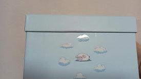 Bebek kutusu mavi kuzular