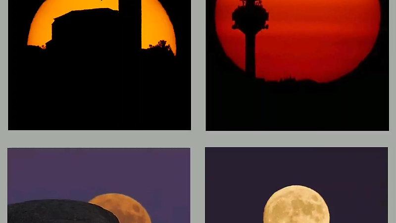APRENDE A FOTOGRAFIAR LA LUNA Y EL SOL NOV'20
