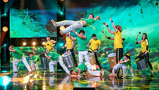 Capoeira on Bulgaria's Got Talent