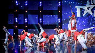 Capoeira Show on Got Talent