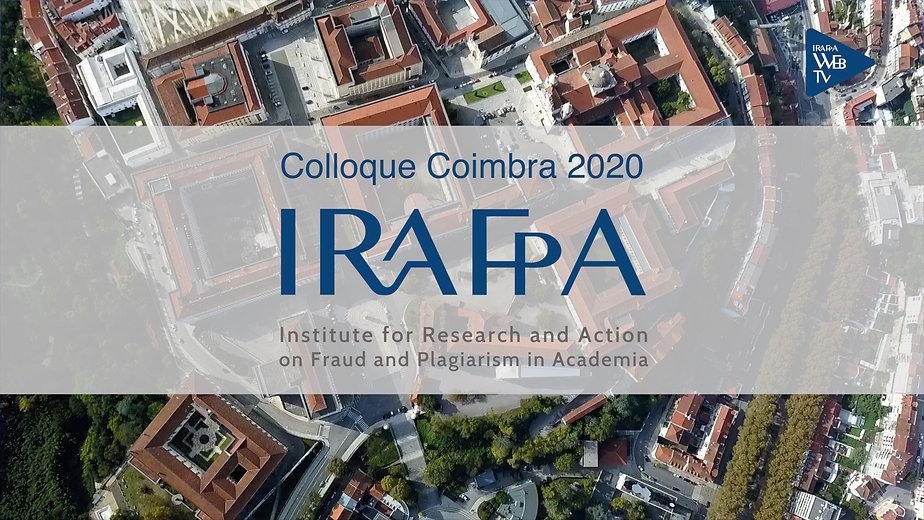 Colloque IRAFPA Coimbra 2020