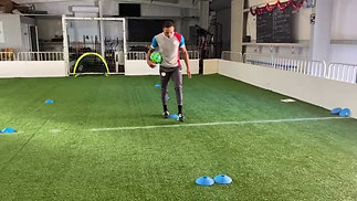 Dribbling + Change of Directions