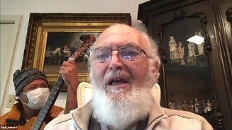 "Alzheimer's Patient & Caregiver Performing ""You Are My Sunshine"" on Zoom"