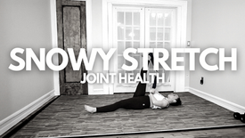 Snowy Stretch: Joint Health