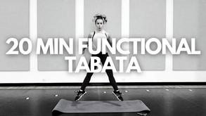20 MIN FUNCTIONAL TABATA