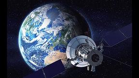 Satelliet met sound