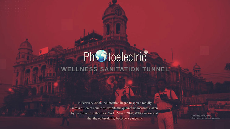 Wellness Sanitization Tunnel // Local Logic Media