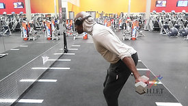 BICEP CURL WITH TRICEP KICK BACK