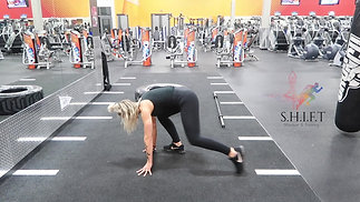 MODIFIED BURPEE WITH STEP IN