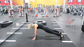 BURPEE WITH GLUTE SQUEEZE