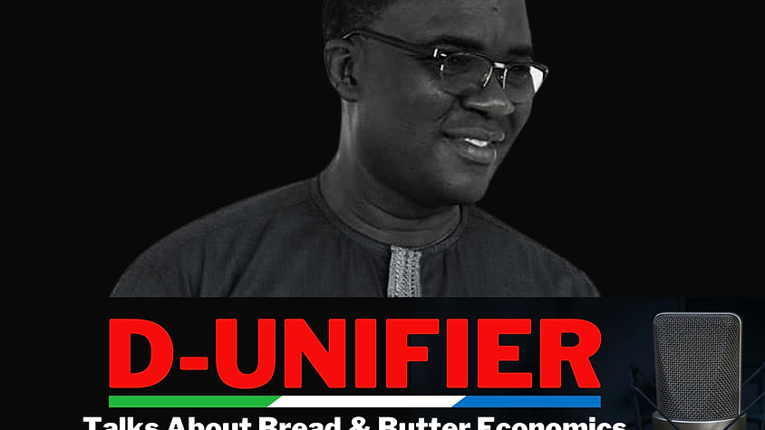 Richard Konteh Talks Bread & Butter Economics