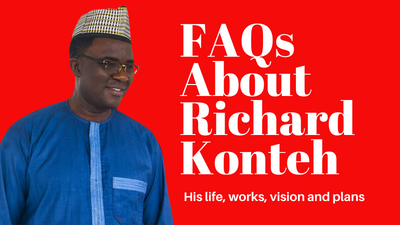 Questions and Answers About Dr. Richard Konteh