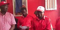 Dr. Richard Konteh Donates to the APC