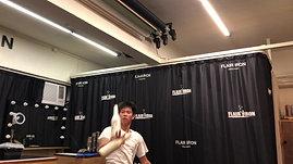 香港花式調酒課程導師練習丨HIDE SIR 4 Bottles丨WALNUT IRON