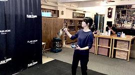香港花式調酒課程導師練習丨MARCI老師 1Tin 1Bottle丨WALNUT IRON