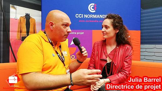 Interview de Julia Barrel par la CCI INNormandy Full version