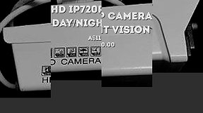 HD IP720P Camera Day_Night Vision