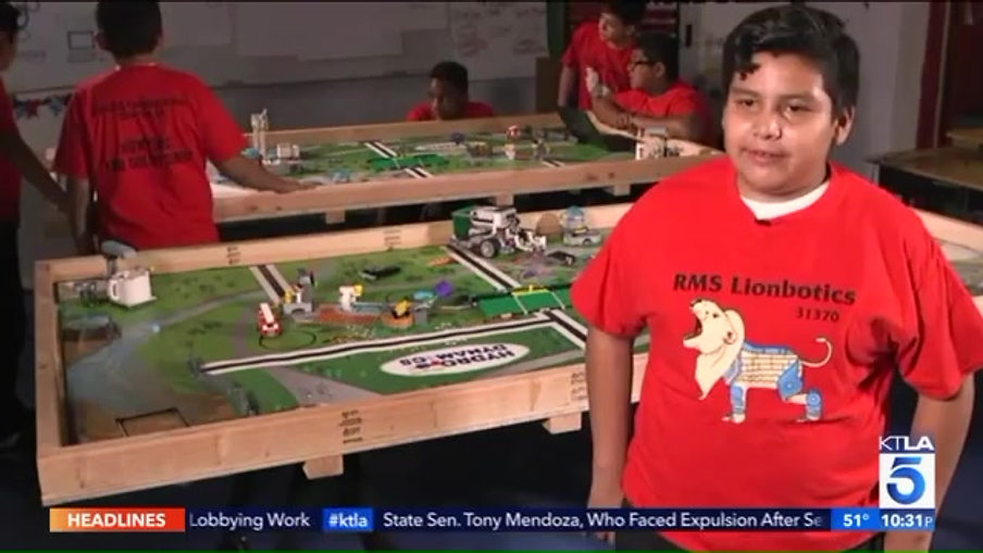 Santa Monica Teens Launches Innovative Robotics Program for Students in Compton  KTLA