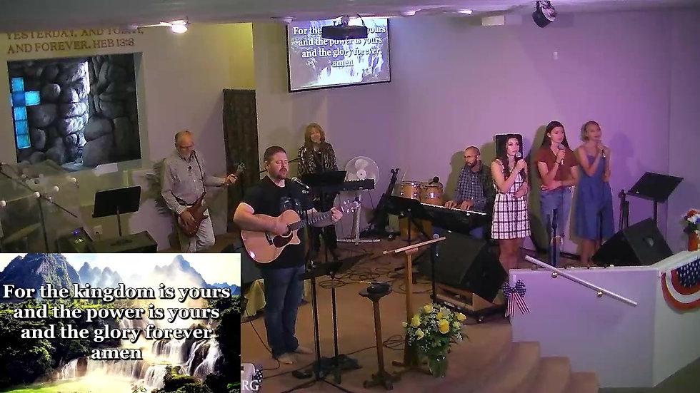 Crossroads Chapel Livestream Sunday August 1st 10am PST