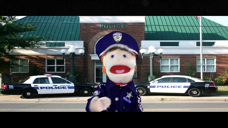 The Pick of the Bunch Officer Puppet
