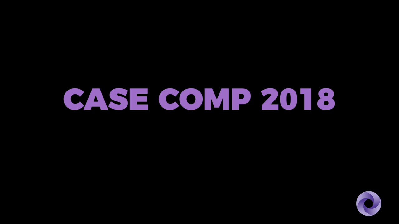 2018 Case Competition Recap Video