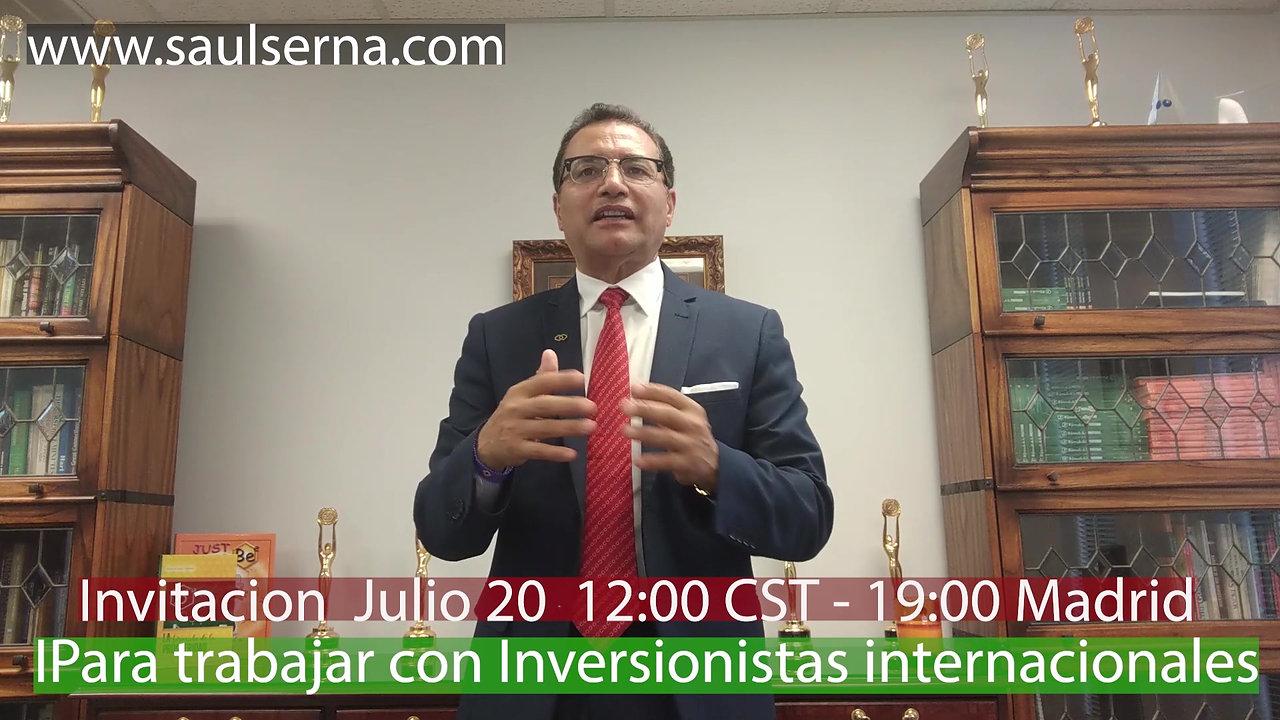 INVITACION 7.20.20