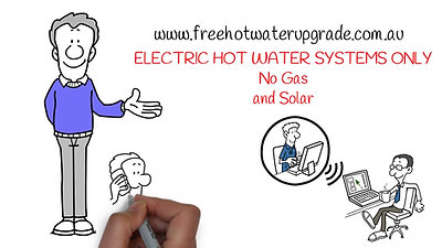 Free Hot Water Upgrade