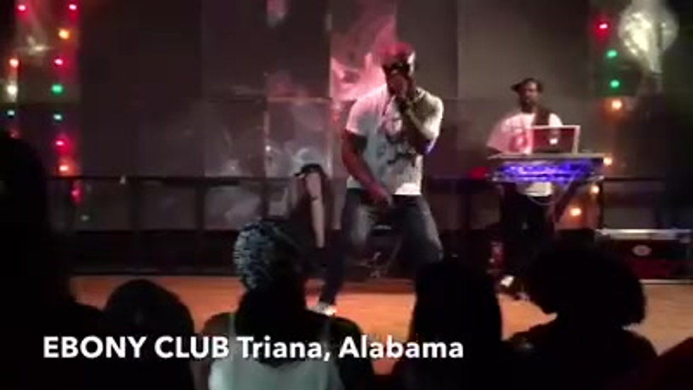 SERANI ALONGSIDE ROMUS SOUNDS  LIVE PERFORMANCE IN ALABAMA