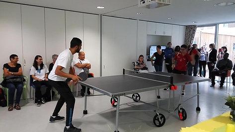 Handisport et tennis de table
