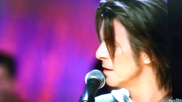 David Bowie meets Marc Bolan