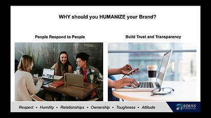 2- Humanizing Your Brand