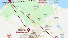 Kadmar Group depots all over Egypt.
