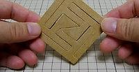 四角形組木「FF」
