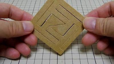 四角形組木「FF・トト・kk・シンプル」