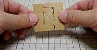 四角形組木「シンプル」