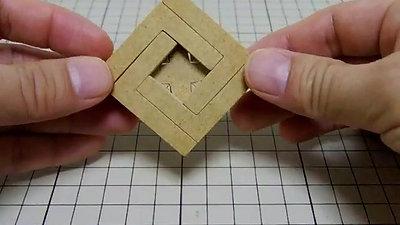 四角形組木「+」いじわる設計