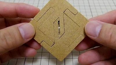 四角形組木「4P同形」