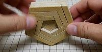 五角形組木「★」