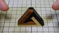 ペンローズの三角形組木を動かすと その2