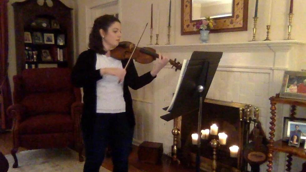 Sarah Jane Kenner recital