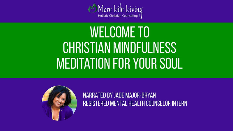 7 Minute Christian Guided Meditation