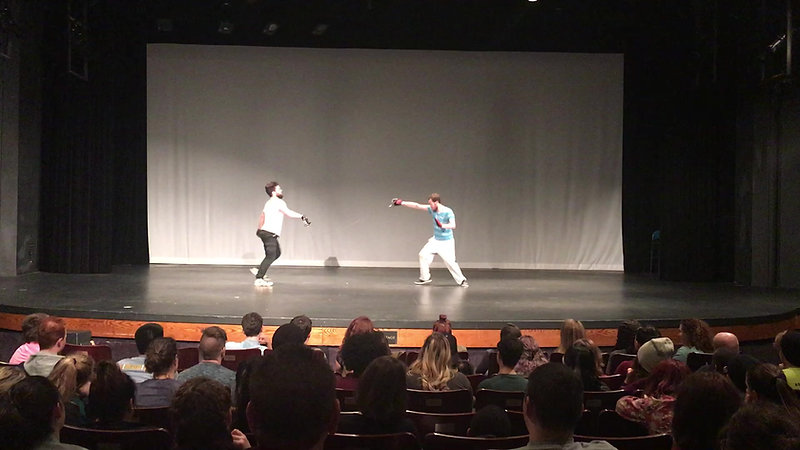 Stage Combat Tests