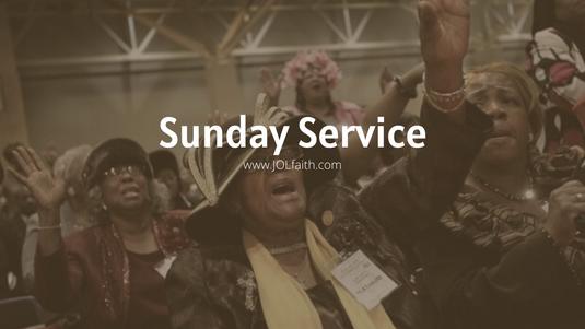 Morning Service -Bishop Eric Butler