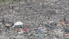 Large Landfill in Africa